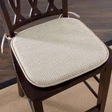Taupe Memory Foam Chair Pad