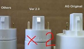 aerogarden bulb adapter new design use regular cfl two pack ebay
