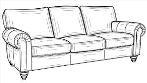 Download Sofa Drawing Color