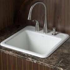 lyons industries dlt01 white acrylic self rimming laundry tub 22