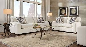 Lucan Cream 5 Pc Living Room Living Room Sets Beige