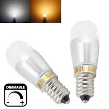 dimmable led e14 fridge bulb 3w 250lm refrigerator light replace