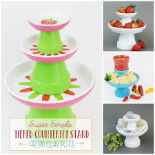 Simple Small DIY Cake Stand With A Variety of Uses ·