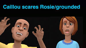 Caillou Scares Rosie In The Bathtub by Caillou Scares Rosie In The Bathtub Tubethevote