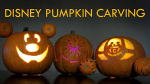 Tinkerbell Pumpkin Carving by Disney Halloween Pumpkin Carving Youtube