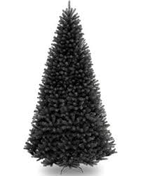 North Valley 9 Black Spruce Artificial Christmas Tree With Stand