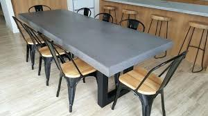 Concrete Tables Urban Light Table Grey