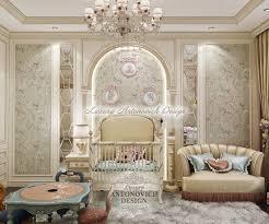 современная классика в интерьере детской luxury antonovich