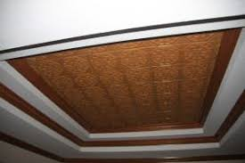 24x24 Pvc Ceiling Tiles by Ceiling Tiles By Us Faux Antique Copper Ceiling Tile 108 Glue Up