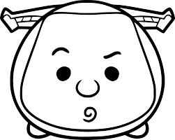 Tsum Tsum Coloring Pages Luxury Tsum Tsum Drawing At Getdrawings