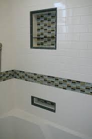 black and grey glass tile backsplash bathroom tile grey tiles