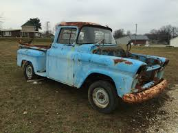 1958 CHEVROLET APACHE STEPSIDE- DISASSEMBLED- ALL PARTS INCLUDED ...