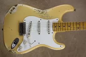 Fender Custom Shop 57 Strat Heavy Relic Stratocaster Nocaster Blonde Guitar