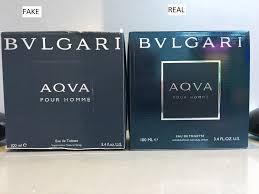 vs real bvlgari aqva pour homme perfume black