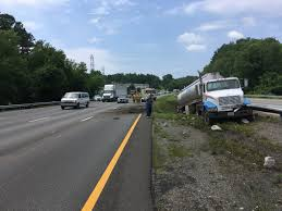 100 Tanker Truck Crash Driver Charged After Blown Tire Causes I95 Crash WTVRcom