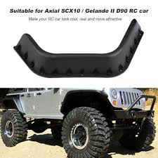 100 Truck Acessories RC 110 Accessories Fender Flare For Axial SCX10 Gelande II