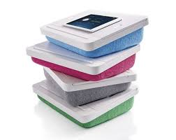 lap desk with storage and pillow just pillow