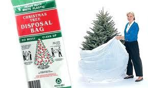 Disposable Christmas Tree Bags Large Disposal Bag Removal