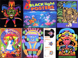 3D Blacklight Posters