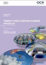 OCR Physics B GCSE J259 Specification Exam June 2018 Onwards