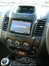 100 Truck Stereo System Ford Ranger 2013 Alpine INEW947 AU With New Dash Trim And