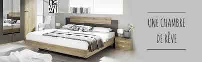 meubles chambres chambres pas chères lit chevet armoire commode discount