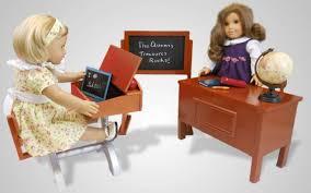 School teacher desk and play set for 18