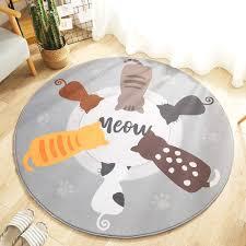 75 cm bawan runde flanell teppich matte wohnzimmer