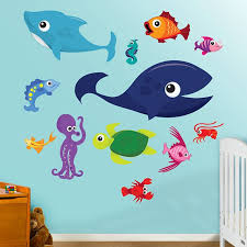 fathead baby wall decor 14 best sea animal wall stickers images on wall
