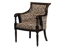 Upholstered Dining Chairs With Nailheads by Accent Chairs Upholstered Barrel Arm Chair With Nailhead Trim