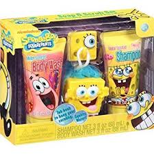 amazon com spongebob squarepants soap scrub set bath set baby