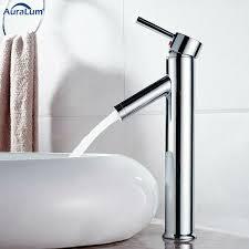 hoch wasserfall wasserhahn bad waschtischamatur waschbecken