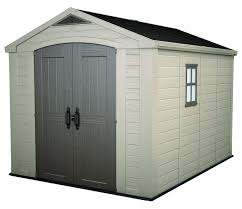 Suncast Vertical Shed Manual by Amazon Com Keter Factor Large 8 X 11 Ft Resin Outdoor Yard
