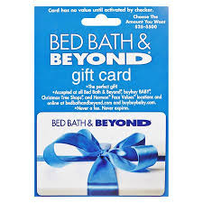 Bed Bath & Beyond Non Denominational Gift Card