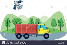 100 Commercial Gps For Trucks GPS Vehicle Tracking Stock Vector Art Illustration Vector Image