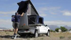 100 Pickup Truck Sleeper Cab Alu D Four Camper Introduction YouTube