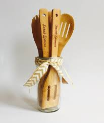 Personalized Utensils Wedding Shower Gift