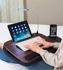 Padded Lap Desk With Light by 5 Best Portable Laptop Desks And Trays For Bed Reviews Of 2017