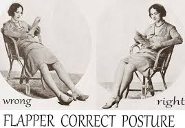 1920s Fashion Correct Postures For A Flapper