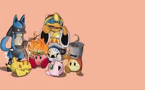 Kirby Pokemon Anime Hd Wallpaper 1920x1200