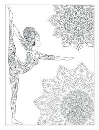 Yoga Meditation Coloring Book Adults With Poses Mandalas Dragon Pages For Pdf Quotes Pictures Animals