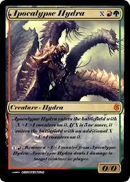apocolypse hydra proxy great for commander vintage casual