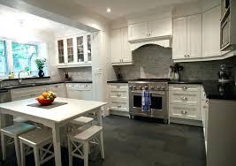 Kitchen Floors With White Cabinets Vinyl Flooring