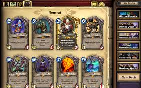 Warlock Deck Hearthstone August 2017 by 2017 Beginners Guide For F2p Free To Play Hearthstone