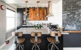 cuisine avec poteau au milieu idées déco de carole d côté maison