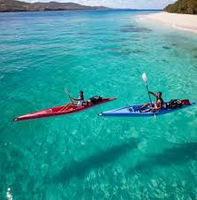 Kayaking In The Turquoise Waters Off Coast Of Puerto Rico Get Away With Travelocity