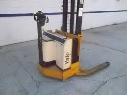 100 Yale Lift Trucks Lot 9 YALE ELECTRIC WALK BEHIND LIFT TRUCK WireBids