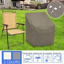 Chair Patio Furniture Cover Vinyl Waterproof Garden Protector