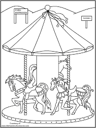 FREE Printable Carnival Coloring Pages Great For Kids Or The Kid