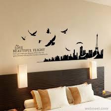 Wall Art Ideas City And Birds